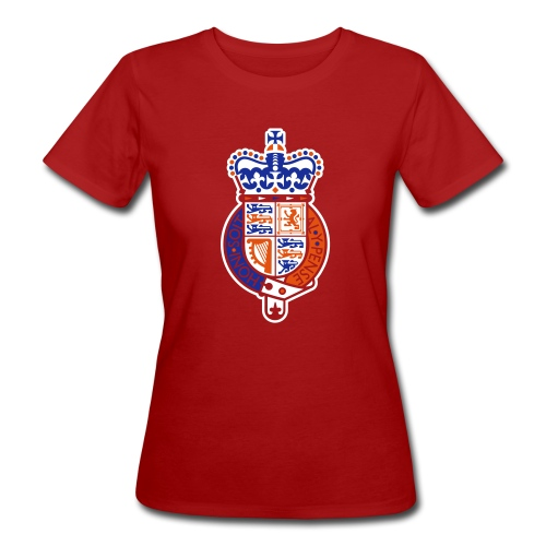 British Seal Pixellamb - Frauen Bio-T-Shirt
