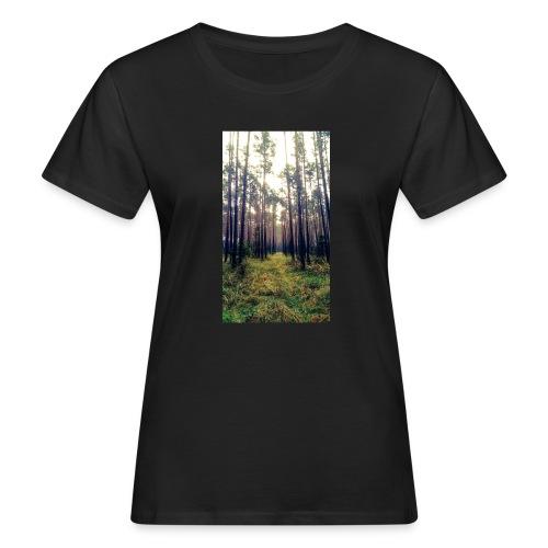 Las we mgle - Ekologiczna koszulka damska