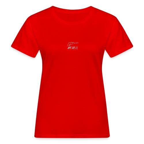 12 play logo - T-shirt bio Femme