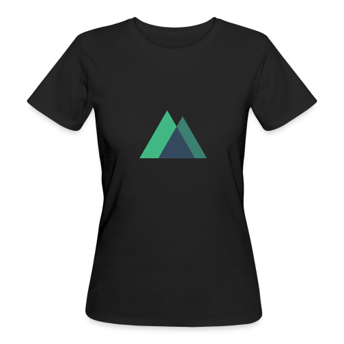 Mountain Logo - Women's Organic T-Shirt