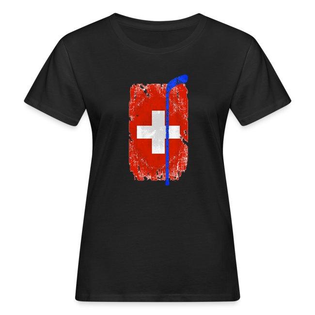 Schweizer Flagge Hockey