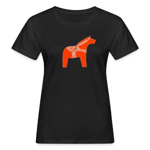 Dala by Pinni Art® rot - Frauen Bio-T-Shirt