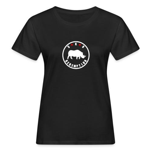 Rhino White 4 - T-shirt bio Femme