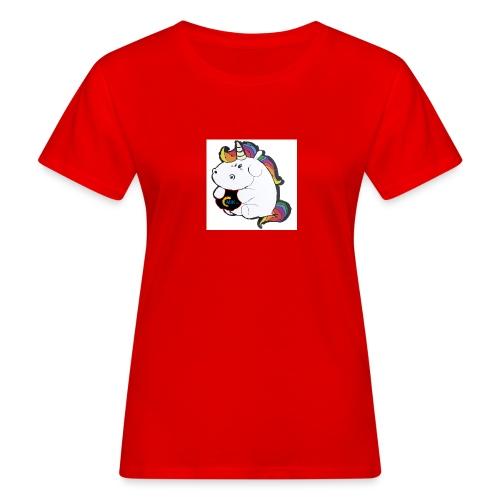 MIK Einhorn - Frauen Bio-T-Shirt