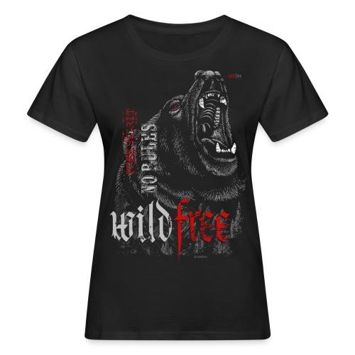 WILDFREE   BEAR - Frauen Bio-T-Shirt