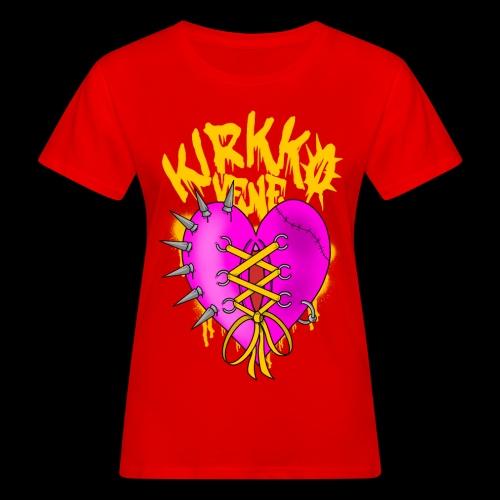 SyDäN - Naisten luonnonmukainen t-paita