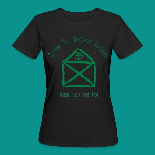Sankt Nikolaus ohne Kreis - Frauen Bio-T-Shirt