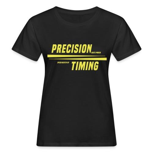 PRECISION & TIMING - Organic damer