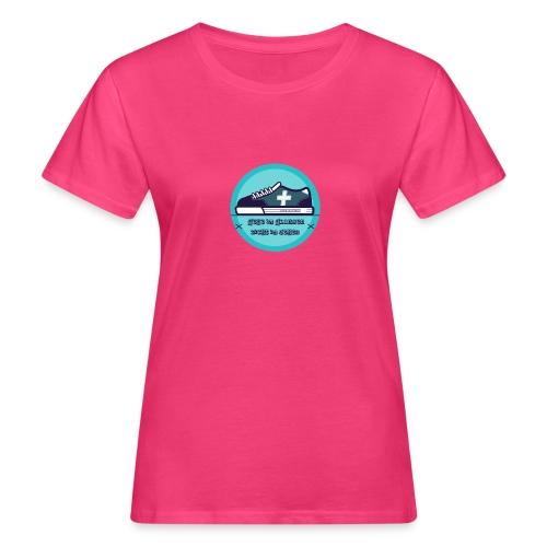 Gehe im Glauben nicht im Sehen - Frauen Bio-T-Shirt