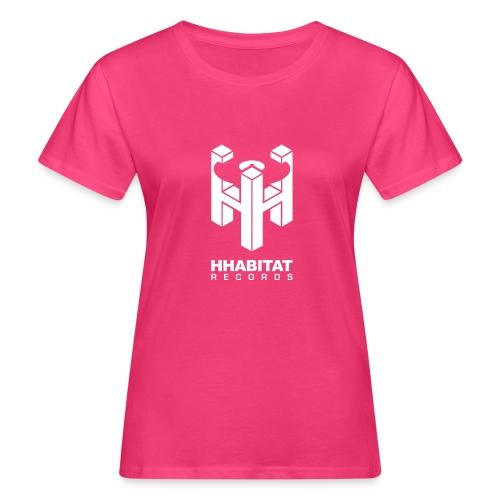HHabitat Records Logo - T-shirt ecologica da donna