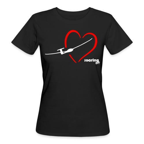 I LOVE SOARING - Frauen Bio-T-Shirt