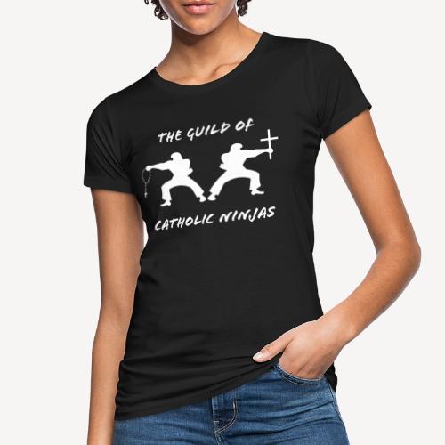 THE GUILD OF CATHOLIC NINJAS - Women's Organic T-Shirt