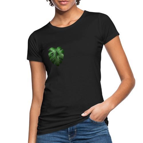 Foglia dalla Natura - T-shirt ecologica da donna