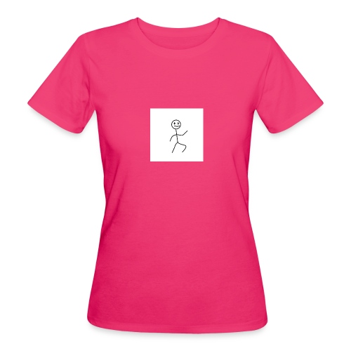 stick man t-shirt dance 1,0 - Organic damer