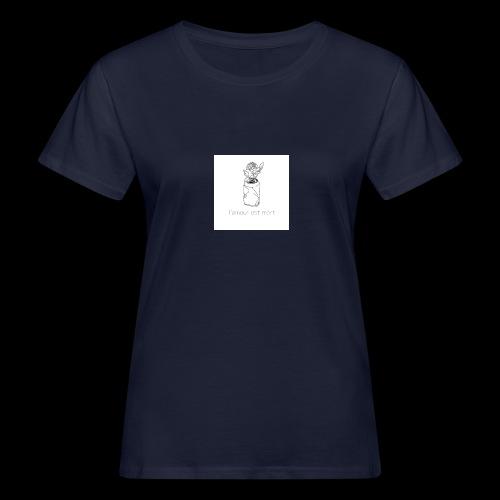 l'amour est mort - T-shirt bio Femme