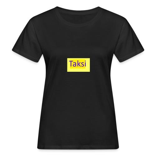 Taksi - Naisten luonnonmukainen t-paita