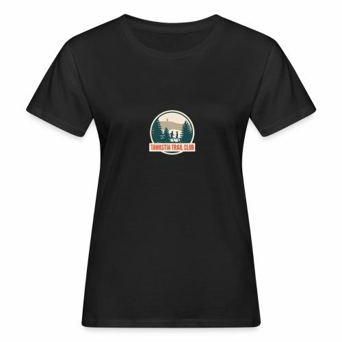 Tawastia Trail Logo - Naisten luonnonmukainen t-paita