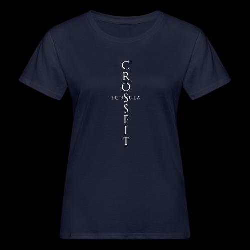 CrossFit Tuusula risti - Naisten luonnonmukainen t-paita