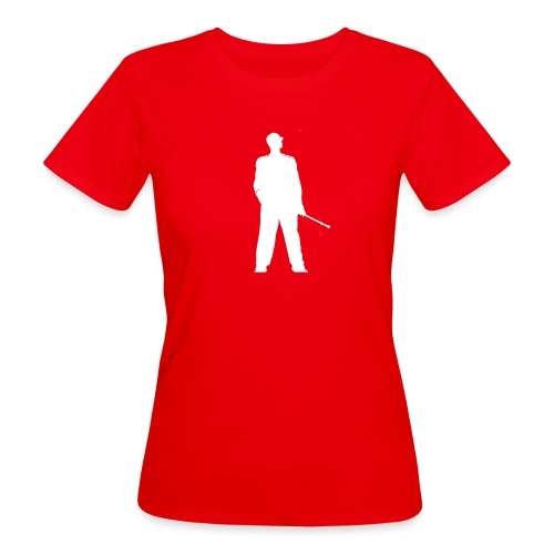 silhouette rkelly blanc - T-shirt bio Femme