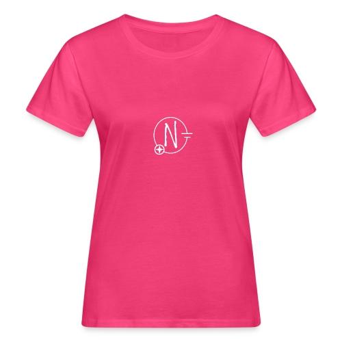 Nerdpol Logo White - Frauen Bio-T-Shirt