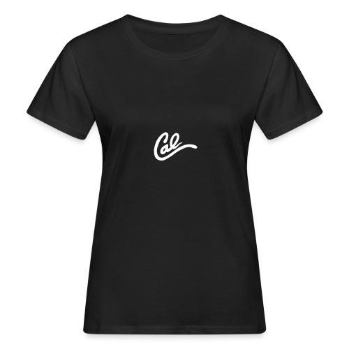 Cal logo - Vrouwen Bio-T-shirt