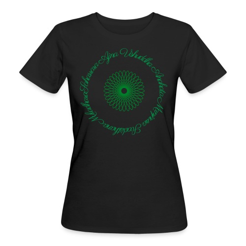Les Chakras - T-shirt bio Femme