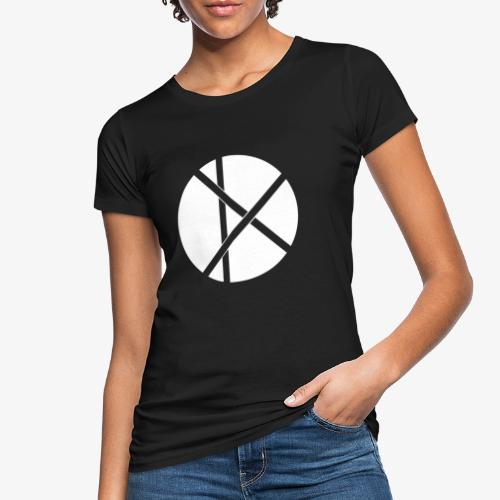 Don Logo - valkoinen - Naisten luonnonmukainen t-paita