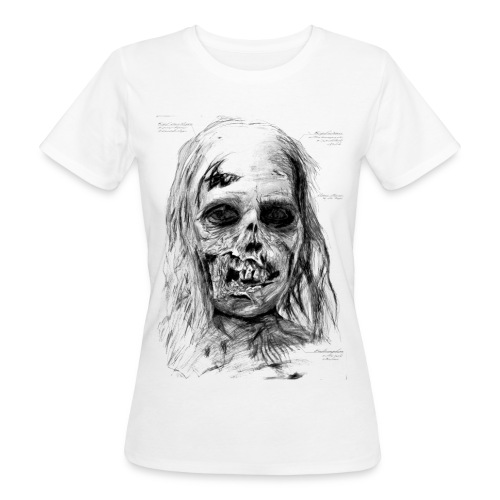 Zombie Kopf - Frauen Bio-T-Shirt