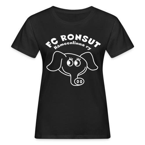 Ronsu_ry_mustat_silmat - Naisten luonnonmukainen t-paita