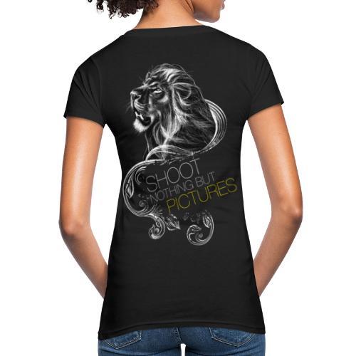 Cecil leeuw op zwart NEW - Women's Organic T-Shirt