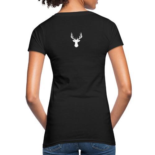 RENO BLANCO - Camiseta ecológica mujer