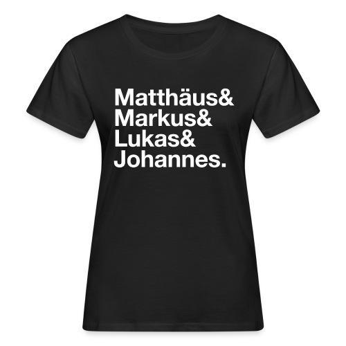 evangelisten-white - Frauen Bio-T-Shirt