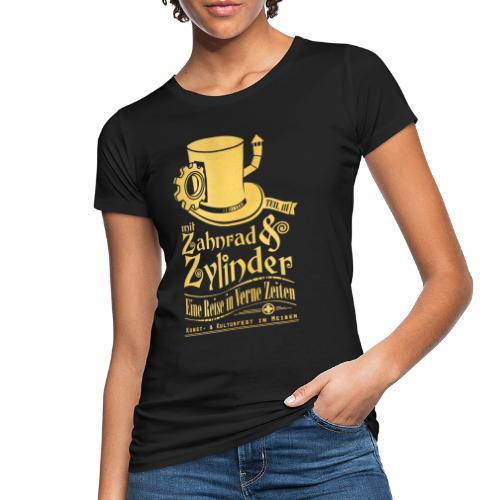 ZuZ 2019 + Brust- & Rückenmotiv - Frauen Bio-T-Shirt