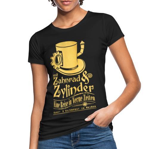 ZuZ 2017 + Brust- & Rückenmotiv - Frauen Bio-T-Shirt