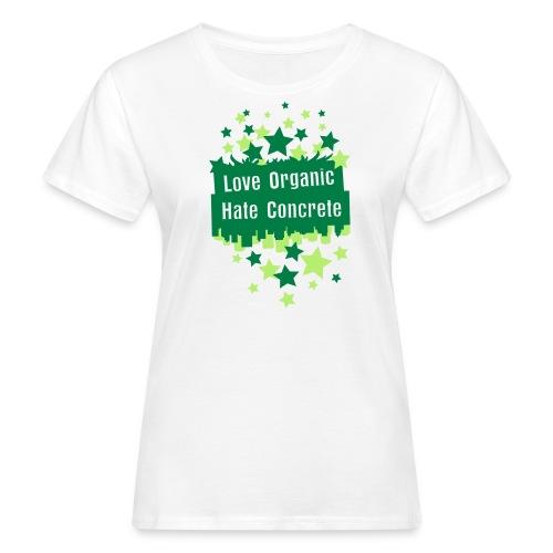 lovehate2 - Frauen Bio-T-Shirt