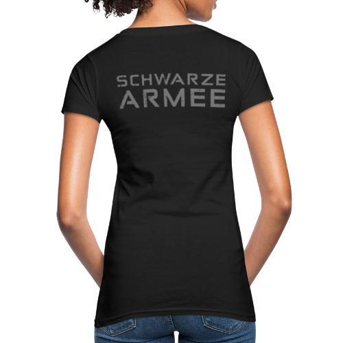 Grey Negant logo + SCHWARZE ARMEE! - Organic damer