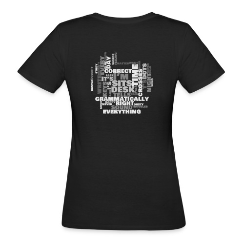 Lyrics Game - Women's Organic T-Shirt