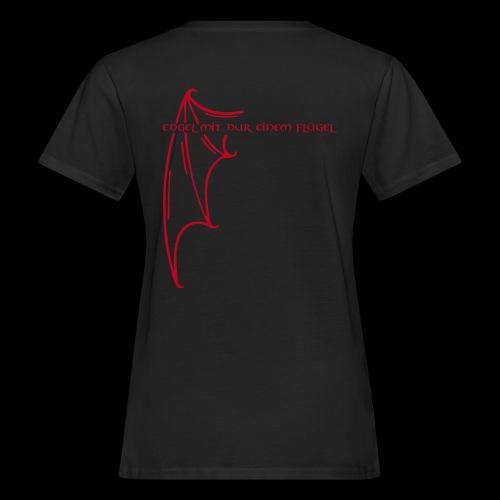 Engel mit nur einem Flügel - Frauen Bio-T-Shirt