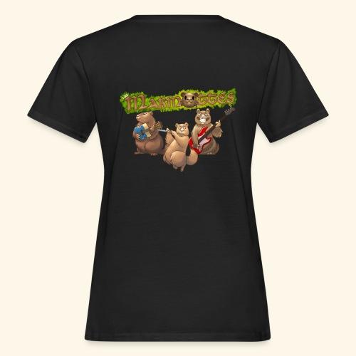 Tshirt groupe dos - T-shirt bio Femme