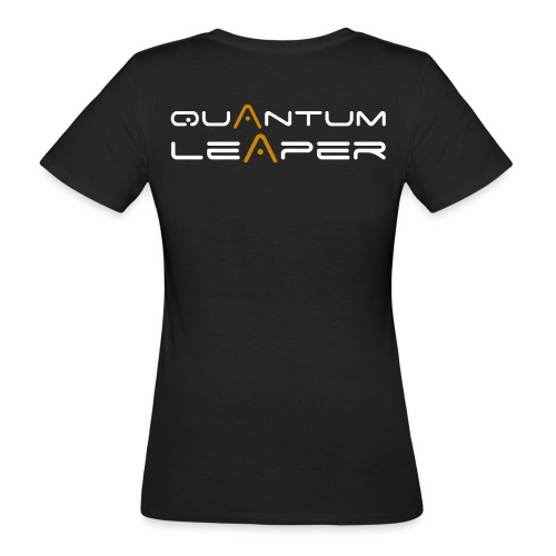 Quantum Leaper White - Women's Organic T-Shirt