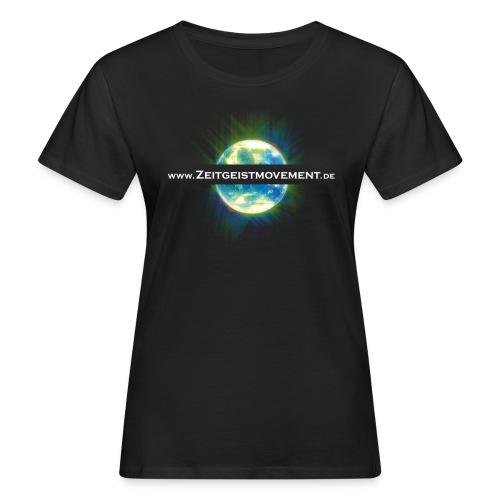zeitgeist vorne - Frauen Bio-T-Shirt