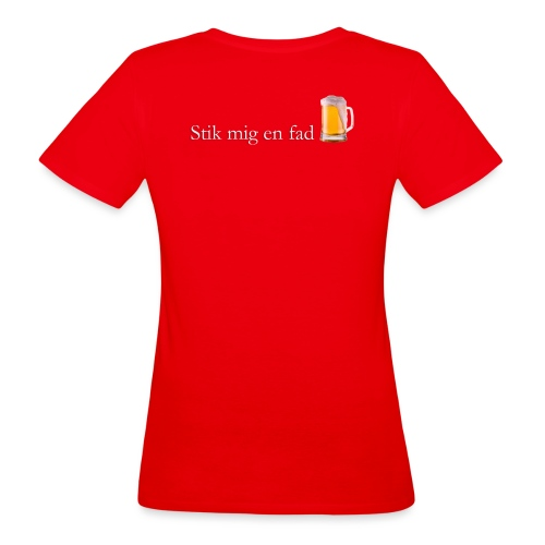 stik mig en fad shirt 1 - Organic damer