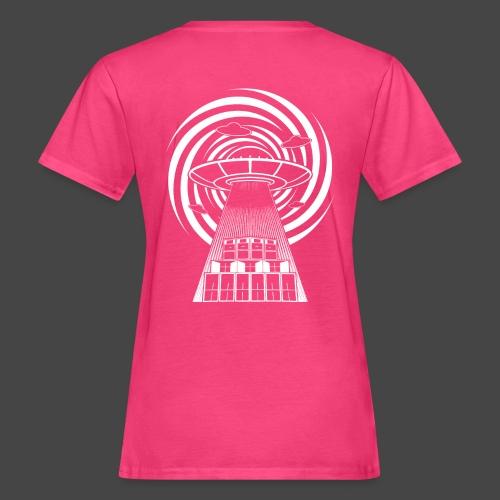 Alien Tekno 23 UFO frameless - T-shirt ecologica da donna