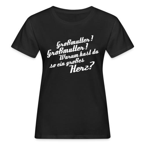 Großmutter - Vorderseite - Frauen Bio-T-Shirt