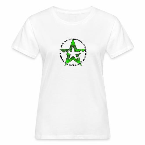 ra star slogan slime png - Frauen Bio-T-Shirt