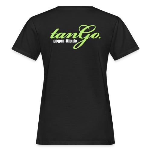 tango.gegen-ttip.de - Frauen Bio-T-Shirt