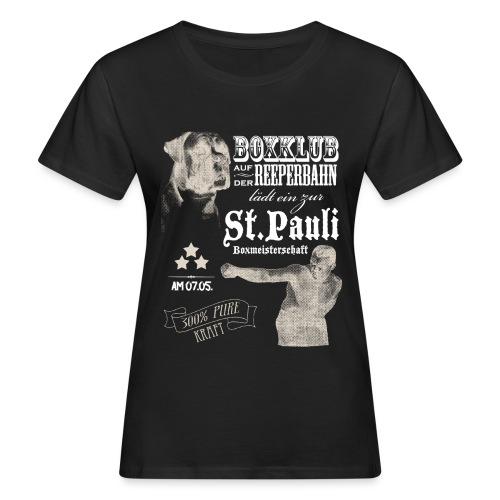 Boxer - Frauen Bio-T-Shirt
