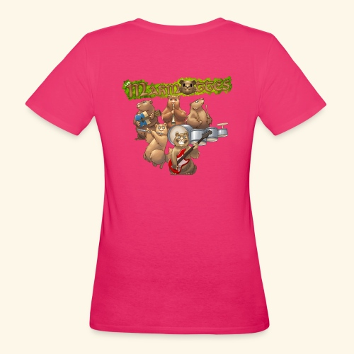 Tshirt groupe complet (dos) - T-shirt bio Femme