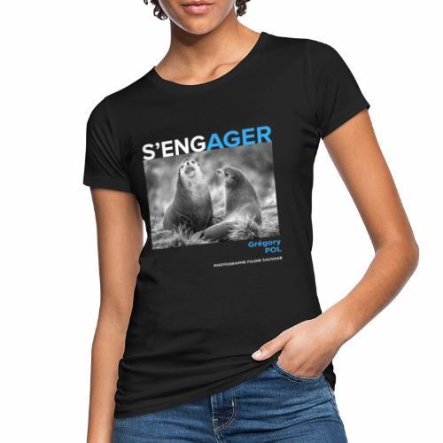 1 Achat = 1 Don au Centre de soin LPO Aquitaine - T-shirt bio Femme