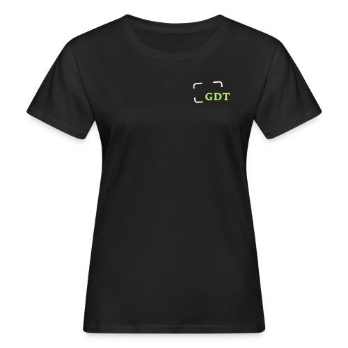 GDT-Slogan_DEU - Frauen Bio-T-Shirt
